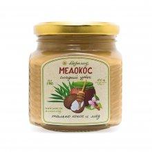 Медокос (урбеч из мякоти кокоса + гречишный мёд)