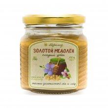 Золотой медолён (урбеч из золотого льна + гречишный мёд)